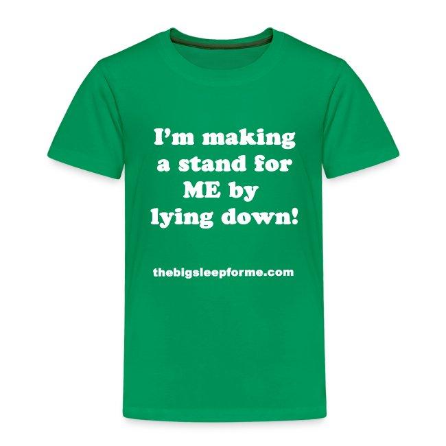 Kids' Slogan W T-Shirt