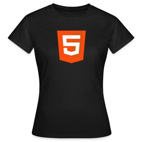 HTML5 classic pour filles - T-shirt Femme