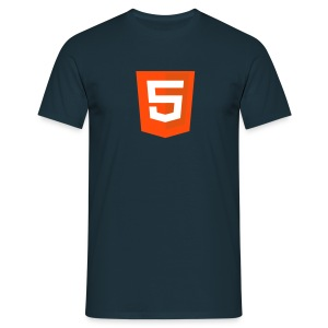 HTML5 classic - T-shirt Homme