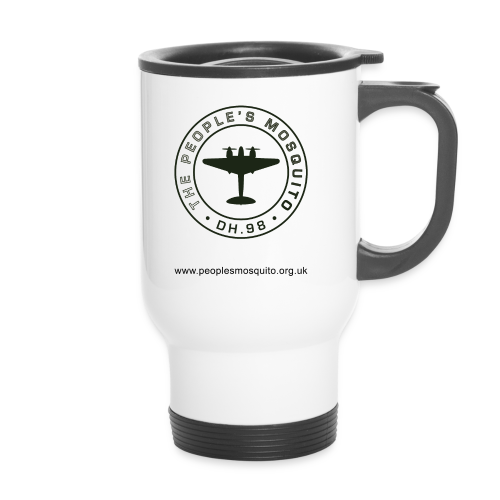 Mission Patch Leftie Travel Mug - Travel Mug