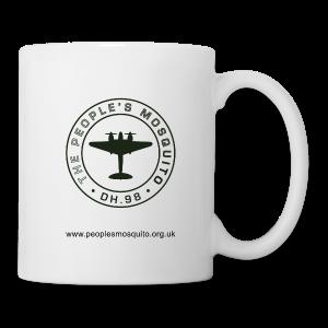 Mission Patch Leftie Ceramic Mug - White - Mug