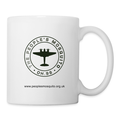 Mission Patch Leftie Ceramic Mug - White - Mug