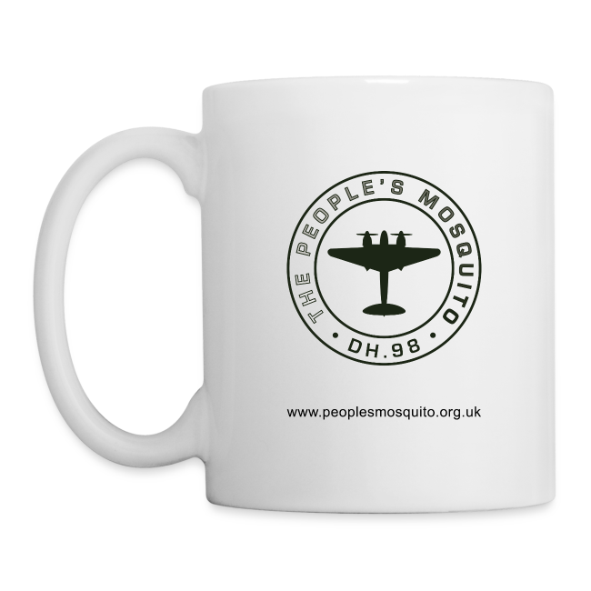 Mission Patch Ceramic Mug - White