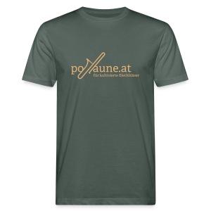 Bio Posaune-Fanshirt - Männer Bio-T-Shirt