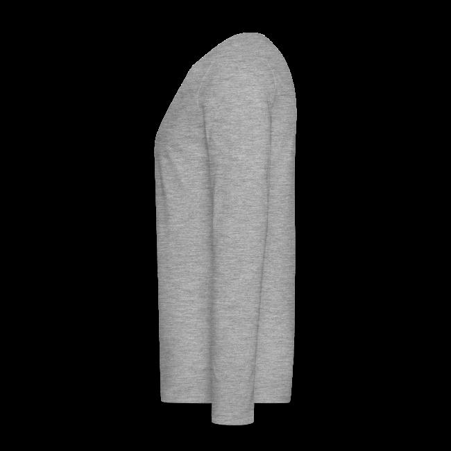 "Men's ""Motto"" Long-sleeve Shirt - Grey"