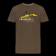 T-Shirts ~ Männer Premium T-Shirt ~ CHROMELESS // BAGGERKOPTER