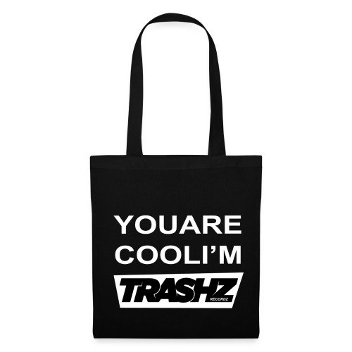 Trashz Records bag black - Tote Bag