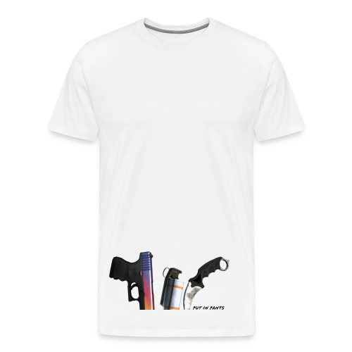 skins in pants t-shirts - Men's Premium T-Shirt