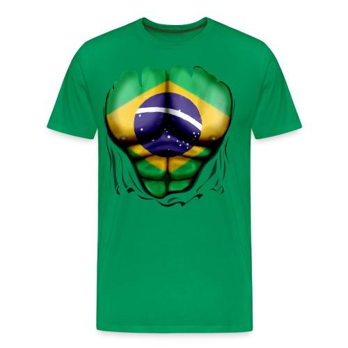 Brasil Body Explosion - Maglietta Premium da uomo