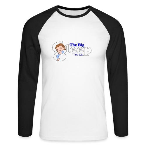 Men's TBS W Baseball Longsleeve T shirt - Men's Long Sleeve Baseball T-Shirt