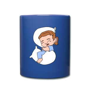 Sleeping Girl Mug - Full Colour Mug