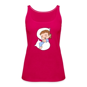 Women's Sleeping Girl Premium Tank Top - Women's Premium Tank Top