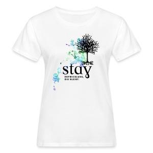 Organic Frauen Shirt Baum - Frauen Bio-T-Shirt