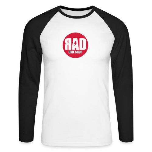 Rad Bolt  - Men's Long Sleeve Baseball T-Shirt