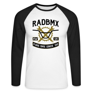 Rad Since '08  - Men's Long Sleeve Baseball T-Shirt