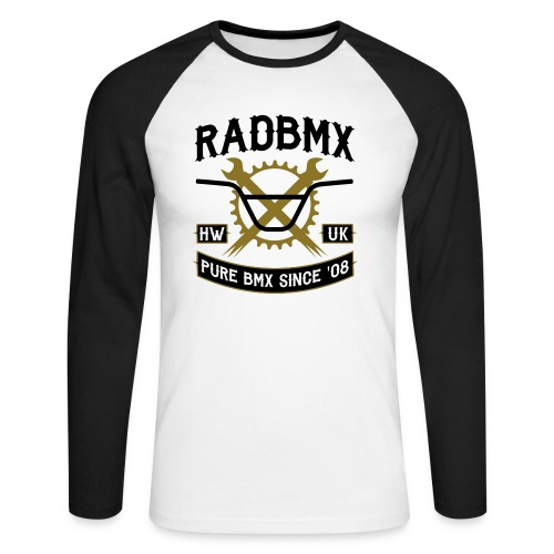 Rad Since '08  - Men's Long Sleeve Baseball T-Shirt