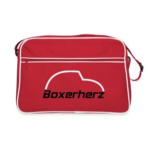Boxerherz Retrotasche - Retro Tasche