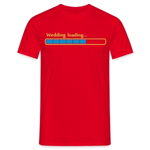 Wedding Loading - Mannen T-shirt