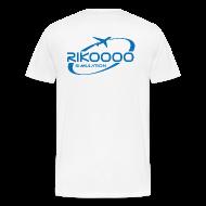 Tee shirts ~ T-shirt Premium Homme ~ Tee shirt Premium Homme Logo Rikoooo arrière