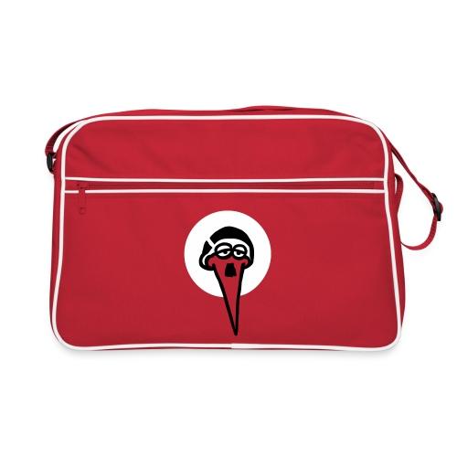 Retro Tasche - Für alle, die gerne was wegschleppen. Die ultimative Storchen-Tasche im Retro-Design.