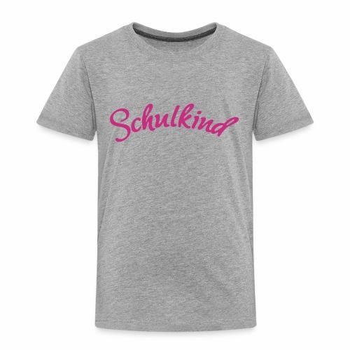 Schulkind, Schulanfang, Erstklässer, Einschulung, Geschnek, Anlass - Kinder Premium T-Shirt