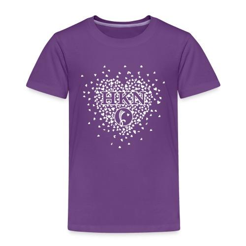 HKN-Kids  Girls-Heart - Kinder Premium T-Shirt