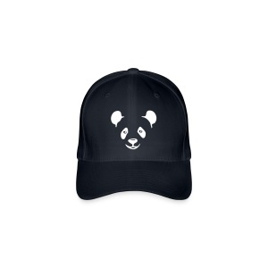 Pander Bear Flex Fit Cap - Flexfit Baseball Cap