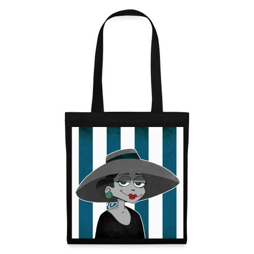 Sac la dame au chapeau - Tote Bag