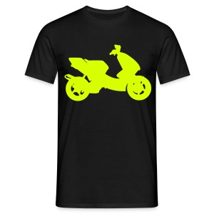 Scooter Tuning Neon HQ - Männer T-Shirt