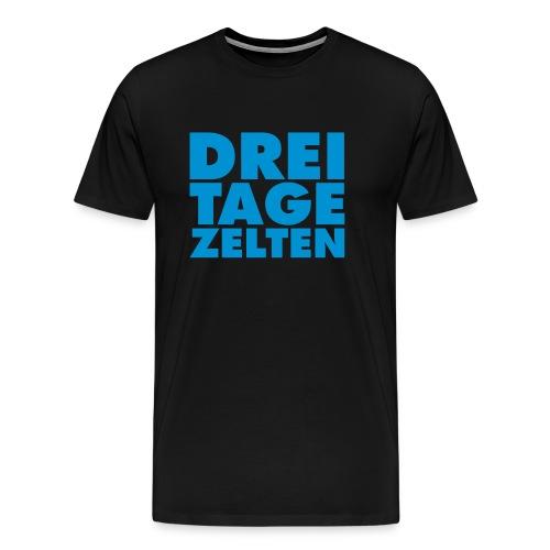 DREI TAGE ZELTEN Gewinner - Männer Premium T-Shirt