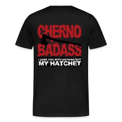 Pro Gamer - Cherno Badass - Herre premium T-shirt