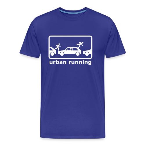 urban running - Männer Premium T-Shirt