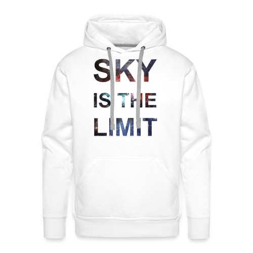 Sky is the limit - Mannen Premium hoodie