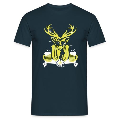 hirsch - Männer T-Shirt