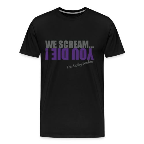 Tee-shirt We Scream... 02 - Homme - Noir - T-shirt Premium Homme