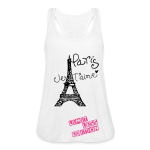 Long Black Womens Paris Vest - Women's Tank Top by Bella