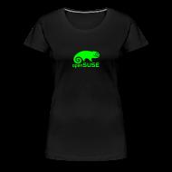 T-Shirts ~ Women's Premium T-Shirt ~ Women's Tee Green Logo