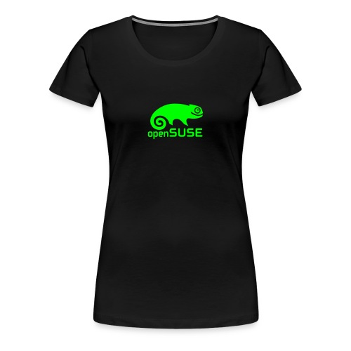 Women's Tee Green Logo - Women's Premium T-Shirt