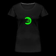 T-Shirts ~ Women's Premium T-Shirt ~ Women's Tee Green Badge