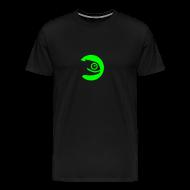 T-Shirts ~ Men's Premium T-Shirt ~ Men's Tee Green Badge