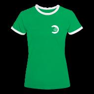 T-Shirts ~ Women's Ringer T-Shirt ~ Women's Football Shirt