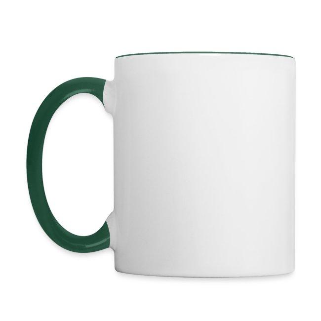 Colored Mug Green Badge