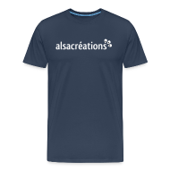 Tee shirts ~ T-shirt Premium Homme ~ Tshirt Alsacreations simple