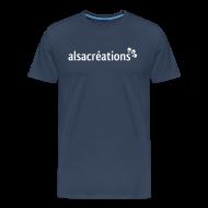 Tee shirts ~ T-shirt Premium Homme ~ Tshirt Alsacreations simple