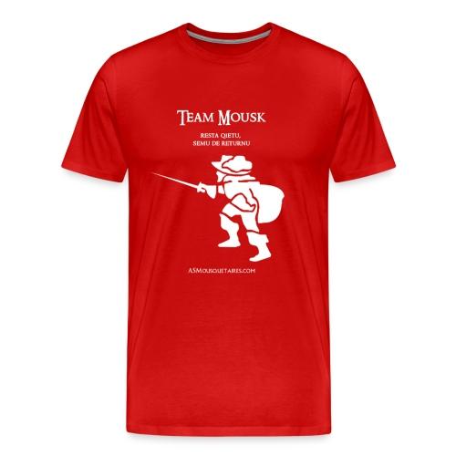 Tshirt Blason TeamMousk - T-shirt Premium Homme