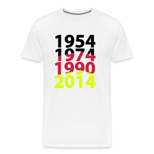 deutschland flagge - Männer Premium T-Shirt