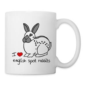 English Spot Rabbit - Mug