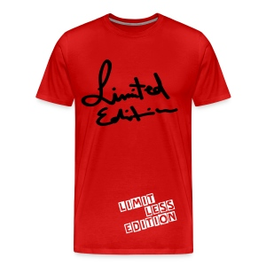 Red Mens Limited Edition T-shirt - Men's Premium T-Shirt