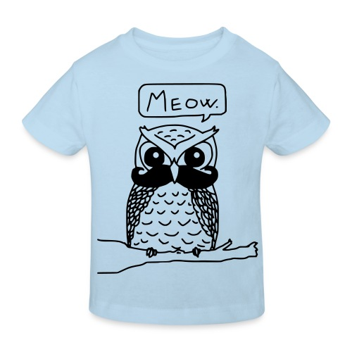 Meowl - Eco Kid - Ekologisk T-shirt barn