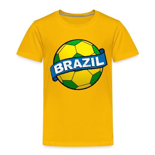 Brazil sport supporter - Kids' Premium T-Shirt